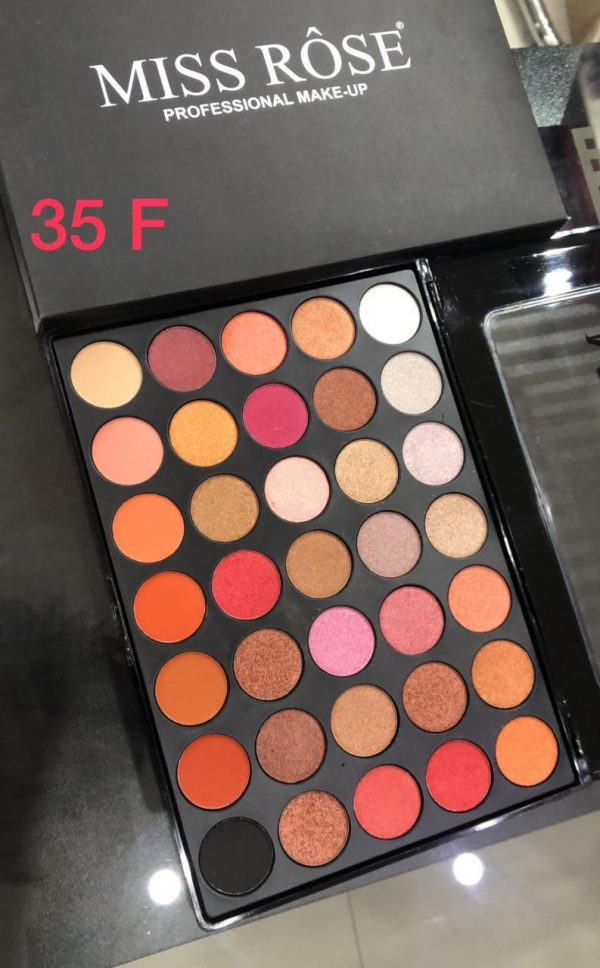 Miss Rose 35 Color Eye shadow pallete