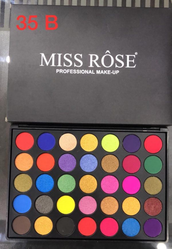 Miss Rose 35 Color Eye shadow pallet