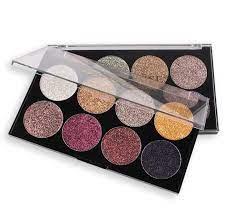 Miss Rose 8 Colors Glitter Eyeshadow Palette