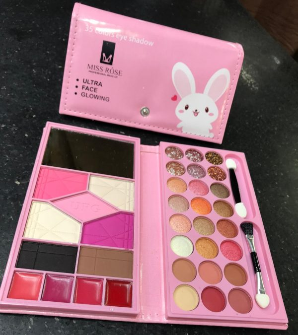Miss rose 35 Color Eye Shadow purse