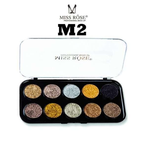 miss rose 10 color glitter kit