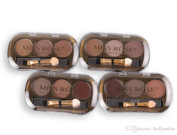 miss rose 3 color eye brow powder 2