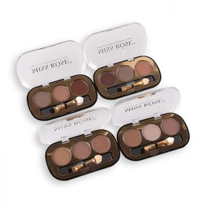 miss rose 3 color eye brow powder 3
