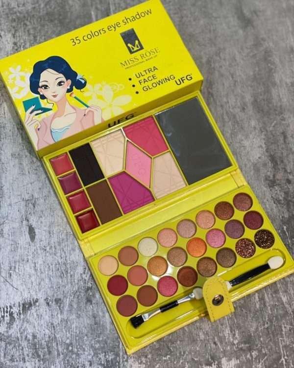 miss rose 35 colors eyeshadow kit