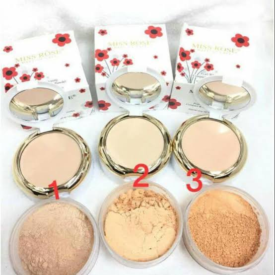 miss rose 3d loose powder 2 in 1