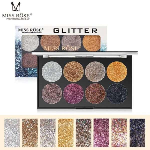 miss rose 8 color glitter kit 3