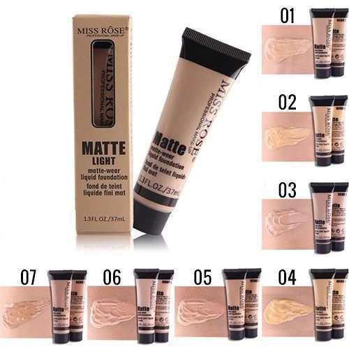 Miss Rose Matte Liquid Foundation