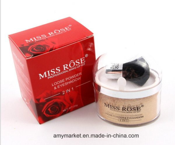 miss rose loose powder gold