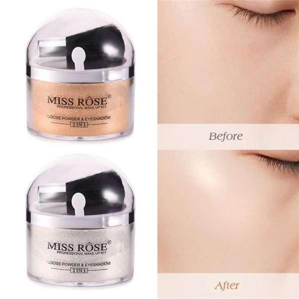 miss rose loose powder