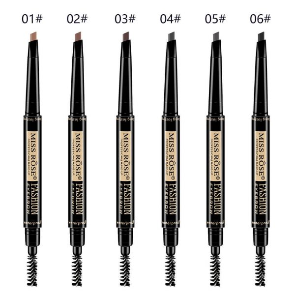 Miss Rose 2 in 1 Eyebrow Pen and Brush Brown
