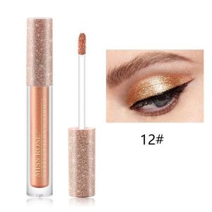 Miss Rose Dazzle shadow liquid eyeshadow glitter eyeshades 12 colors