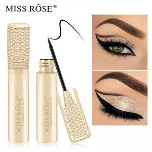 Miss Rose Diamond Eyeliner Makeup Waterproof Fast Dry Black Eye Liner