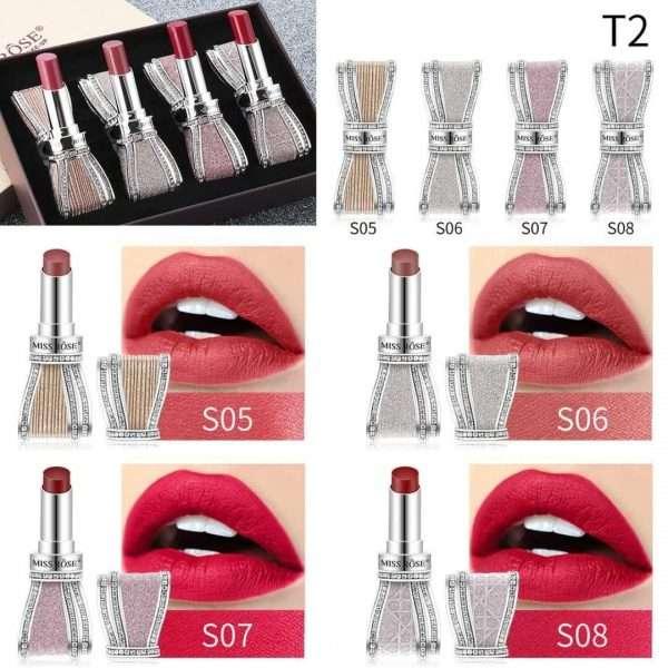 Miss Rose 4 Colors Lipstick kit
