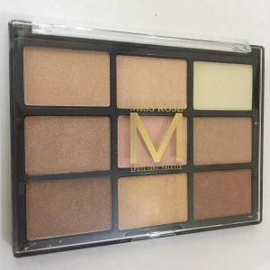 Miss rose 9 color syeshadow 1